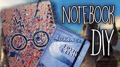 Harry Potter Notebooks - DIY
