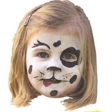 dog face paint