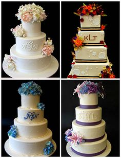 Finding and sharing the very best wedding inspiration from Bridal Make-up ,Wedding Hairstyles, real wedding photos to rustic wedding and DIY wedding ideas Monogram Cake, August Wedding, Unique Wedding Cakes, Lace Flowers, Cup Cakes, Designer Wedding Dresses, Vintage Lace, Cake Cookies, Amazing Cakes