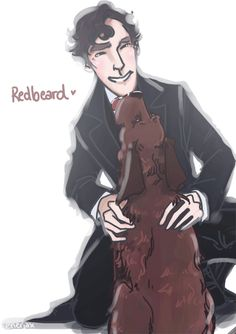 What keeps you calm, Sherlock? - Heart ---> in pieces ----> on the floor.