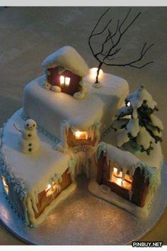 Xmas cake - Christmas Decorations