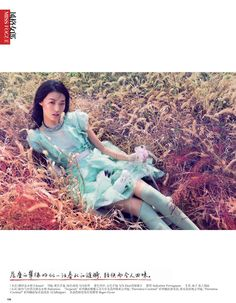 romantic pastel: tian yi by stockton johnson for vogue china january 2013 | visual optimism; fashion editorials, shows, campaigns & more!