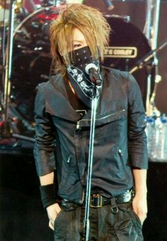 "Reita. The GazettE. As he later said in this show ""WHAT WHAT WHAT WHAT!!!!"""