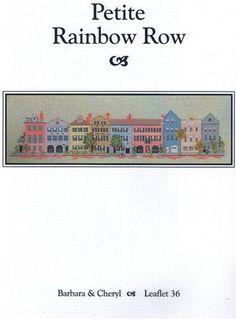 Petite Rainbow Row - Cross Stitch Pattern