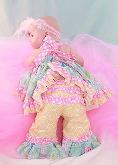 Baby Olivia's Ruffle Bottom Pants PDF Pattern Sizes Newborn to Pdf Sewing Patterns, Baby Patterns, Create Kids Couture, Baby Olivia, Toddler Photography, Baby Couture, Coming Home Outfit, Newborn Pictures, Boutique Clothing