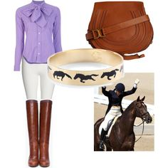 """""""equestrian style"""" by michelle-barrientos on Polyvore"""