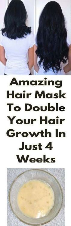 Amazing Hair Mask To Double Your Hair Growth In Just 4 Weeks #HairRemedies