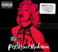 Madonna - Rebel Heart [PA] (Super Deluxe 2CD 2015) Explicit Brand New and Sealed