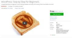 WordPress: Step by Step for Beginners  http://hii.to/41lKf_vHe  #udemy #coupon #discount #couponcode #wordpress #beginners