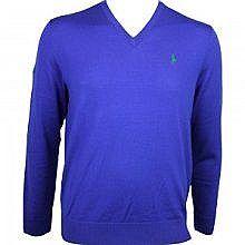 Ralph Lauren  V Neck Merino Sweater