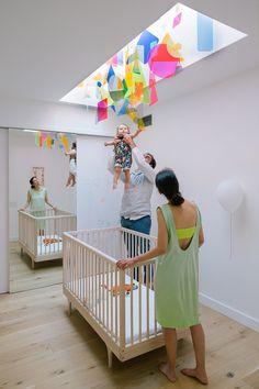Gallery of Industrial Tribeca / Studio Esnal - 21 Room Interior, Interior Design Living Room, Nursery Decor, Bedroom Decor, Kid Spaces, Cheap Home Decor, House Colors, Kids Bedroom, Home Remodeling