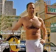 Mike Rowe stopping traffic