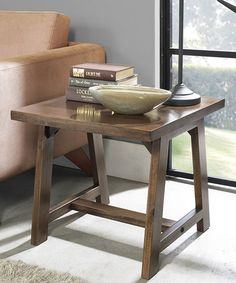 Look what I found on #zulily! Sawhorse Side Table #zulilyfinds