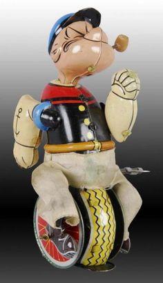 Vintage Tins, Vintage Dolls, Vintage Antiques, Retro Vintage, 1980 Toys, Popeye The Sailor Man, Toys Land, Vintage Television, Tin Toys