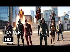 The Flash, Arrow, Supergirl, DC's Legends of Tomorrow 4 Night Crossover Event Trailer (HD) - YouTube
