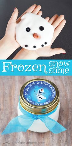 Frozen Snow Slime at