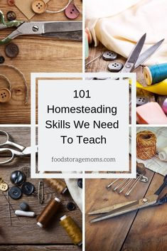 We've heard a lot the last few years about homesteading skills, vintage skills, and pioneer skills. I don't know about you, but I can do all of these and I bet you can too. Water Storage, Food Storage, Housekeeping Tips, We Need, Learn To Sew, Homemaking, Cleaning Hacks, Homesteading, Prepping