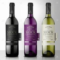 mockup wine bottle - Google zoeken