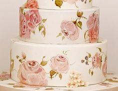Bellatorta - Торт на день рождения, юбилей - Торт Рисунок розы