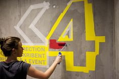 Wayfinding Westerdals by Marius Holtmon, via Behance