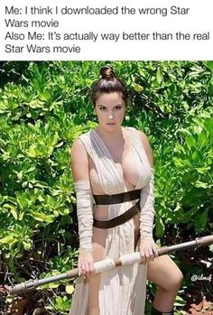 Cosplay Galaxy — Side Boob Rey by Danny Cozplay Foto Fails, Scooby Doo Film, Funny Images, Funny Pictures, Rey Cosplay, Corpo Sexy, Funny Jokes, Hilarious, Star Wars Humor