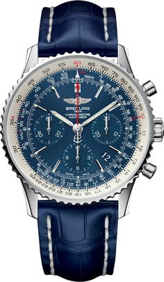 The Watch Quote: The Breitling Navitimer Blue Sky Limited Edition 60e anniversaire watch - Breitling celebrates the legendary Navitimer's 60 years in flight