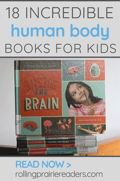 Are you teaching your children about the different parts of their body? These 18 human body books will bring learning to life for your kids! You can also click through to see some of our favorite human body resources for kids of all ages. Teaching Kindergarten, Teaching Reading, Fun Learning, Reading Lists, Science Books, Science Activities, Early Literacy, Literacy Centers, Pre-school Books