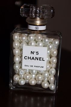 should try this with empty perfume bottles, pretty