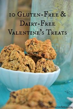 10 Gluten-Free Valentine's Treats & A Few LOVEly Affirmations To Live By TheHealthyApple.com | #glutenfree #healthy #recipe