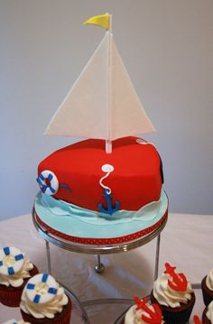 Sailboat Cake.. Brody bday..?