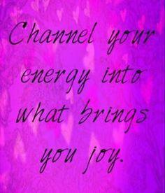 Always choose joy.