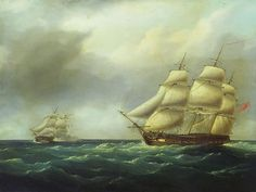 Action Between HMS Hydra (1797) and the Furet 27 February 1806.