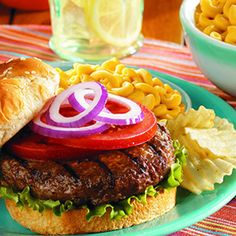 This isn't your normal burger, but you will enjoy just the same on those cool summer evenings.