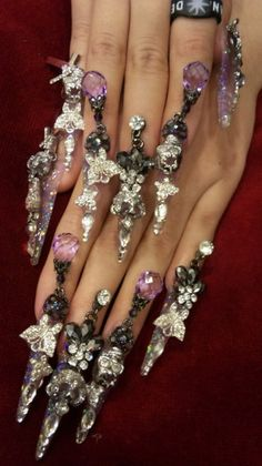 The Japanese just have some intense nail art, don't they?