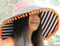 Easy fabric hat SEWING PATTERNS from FishPetals Do Fly