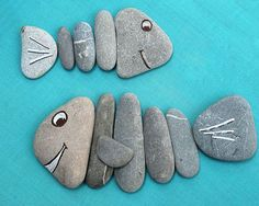 Easy Paint Rock For Try at Home (Stone Art & Rock Painting Ideas) Pebble Painting, Pebble Art, Stone Painting, Pebble Beach, Stone Crafts, Rock Crafts, Arts And Crafts, Beach Rocks Crafts, Art Crafts
