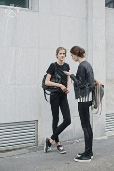 Milan Fashion Week 2015 S/S Street Style :Day 4 #model #offduty