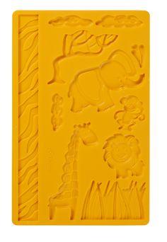 Amazon.com: Wilton Fondant and Gumpaste Mold Jungle: Kitchen & Dining