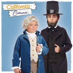 Happy President's Day from Arlene's Costumes and California Costumes!! Look to the Scholastic line from our friends at @calcostumes for a variety of historic costumes for children such as George Washington and Abraham Lincoln.  Contact us at 585-482-8780 for more information on school projects theater productions and historical events. Also check out our website www.arlenescostumes.com  #CaliforniaCostumes #PresidentsDay  #history #costumes #dressup #bookreportdays #theater #schoolproject…