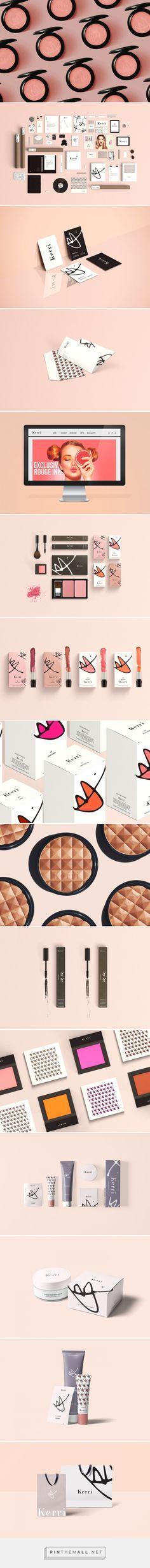 Kerri Cosmetics Branding and Packaging by Danielle Han  | Fivestar Branding – Design and Branding Agency & Inspiration Gallery
