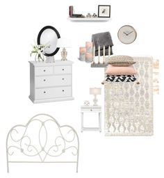 """""""Boudoir"""" by jazzywiles on Polyvore featuring interior, interiors, interior design, home, home decor, interior decorating, Howard Elliott, LSA International, From the Road and TemaHome"""