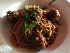 Spaghetti and meatballs Foodspotting at Baldini