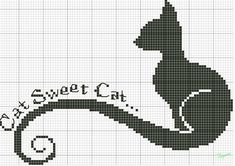 *<Cross stitch patterns- cat