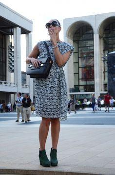 Elsa, envoyée spéciale du ELLE Belgique à New-York pour la Fashion Week 2012