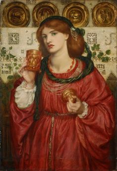 The Loving Cup. 1867. Dante Gabriel Rossetti - Pre Raphaelite Art