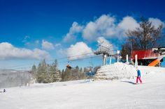 #Winter in #Małopolska. Dwie Doliny Ski Station, Wierchomla, #Poland.  Ski Station Directory: http://domalopolski.pl/