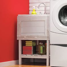 "Visit our internet site for additional relevant information on ""laundry room storage diy cabinets"". It is actually a superb location to read more. Diy Shelves, Laundry Tubs, Closet Storage, Room Storage Diy, Bathrooms Remodel, Laundry Room Storage Shelves, Small Storage, Room Design, Utility Sink"