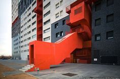Colorful brutalism