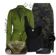 """""""Shamrock Jewelry"""" by jaimie-a ❤ liked on Polyvore"""