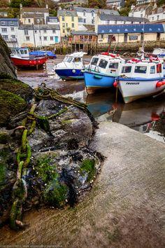 Fishering boats, Cornwall, England